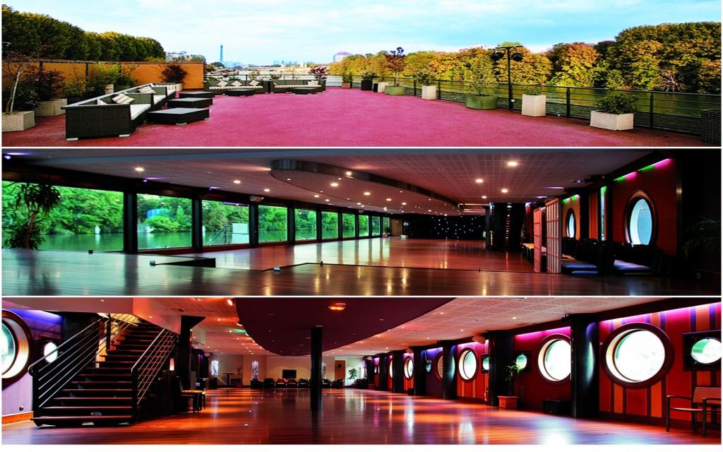Grote locatie in Parijs voor een seminar