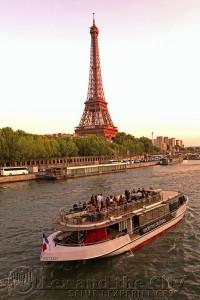Prive boottocht op de Seine in Parijs zonder eten 75 plaatsen overdekt