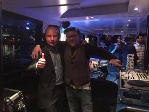 Bedrijfsfeest op de boot met DJ Lextase - 80's DJ Lex van Buuren