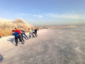 Facebook marketeer Lex van Buuren die gek is van schaatsen en inline skaten