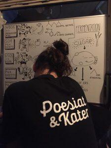 Poesiat en Kater mini workshop en bierproeverij in Cafe Joost in De Indische Buurt