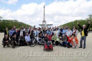 Lex and the City organiseert groepsuitjes en bedrijfsevents in Parijs sinds 1998