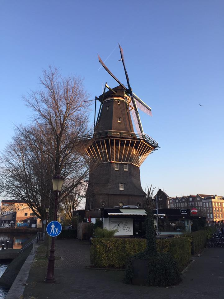 De molen van Amsterdam-Oost: Lex and the City komt er vaak langs met rondleidingen
