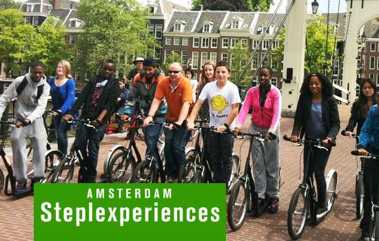 Steppen in Amsterdam met een groep - Bedrijfsuitje of vrijgezellenfeestje
