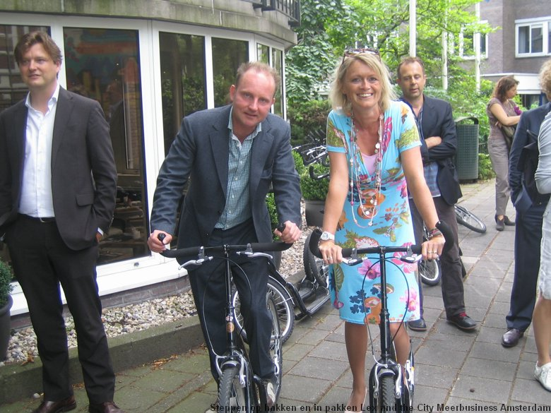 Step mee in Amsterdam-Noord met Lex and the City