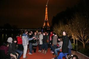 Jeu de Boules Pétanque op de boot in Parijs met groepen Lex and the City (5)