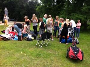 Skate workshop op 30 juni 2012, vrijgezellenfeestje meiden