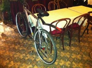 Brasserie Julien in Parijs is fietsvriendelijk