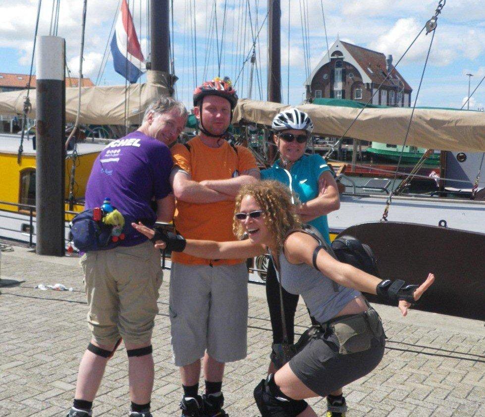 Texel tijdens skate & sail 2011