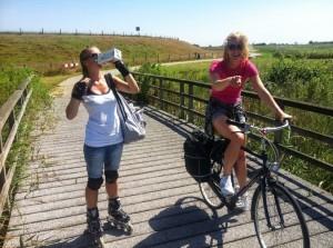 Dagtour Texel met ronde op de fiets of skate privé