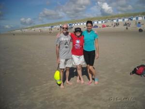 Break at the beach of Texel Island