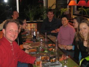 Diner in Parijs met 10 personen, maar ook met 250.