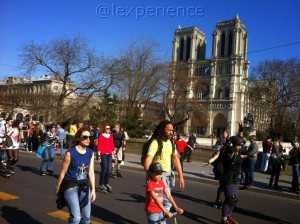 Notre Dame op skates Lexperience