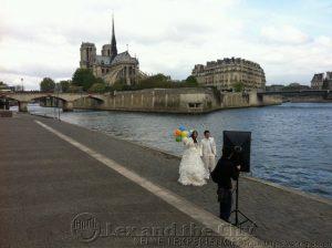 Trouwen aan de Seine - Foto Lex and the City