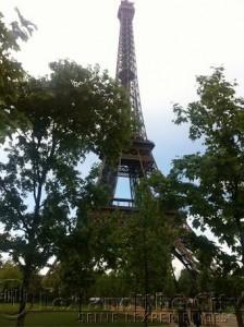 Eiffeltoren tijdensteamuitje Parijs op de Seine