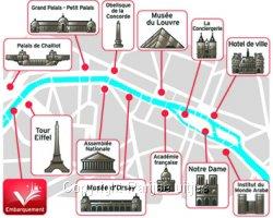 Borrelboot Seine langs Bezienswaardigheden - Uitstapje Parijs