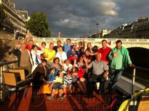 Uitstapje Parijs - Borrelboot op Seine met groep