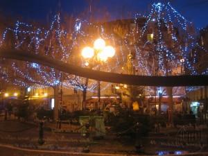 Gezellig plein in Quartier Latin voor een drankje