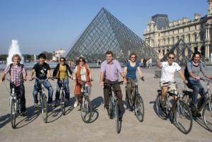 Incentive Parijs fietsen met de groep