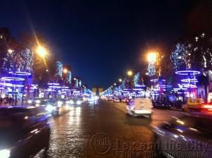 Kerstverlichting Champs-Elysees
