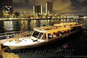 Foto van een privé boot voor een incentive-trip in Parijs op Seine