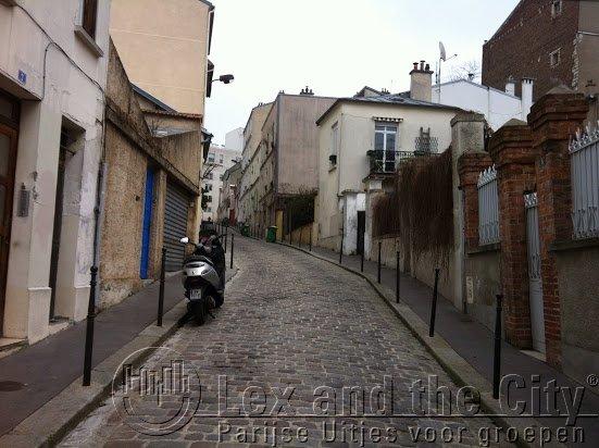 Belleville Menilmontant rue Laurence Savart straatje in Parijs om te slenteren | onbekend parijs