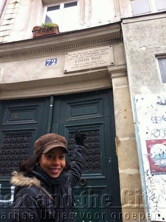 Onbekend Parijs, Belleville, de plek waar Edith Piaf is geboren,