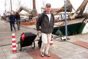 Lex van Buuren tevreden en gelukkig na Skate & Sail