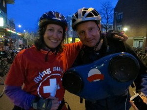 DJ Lextase met flying Nurse tijdens Friday Night Skate Big Streets 1 mei 2015