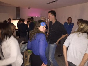 DJ Lextase voetjes van de vloer op de Macarana 1 mei 2015 prive feestje Amsterdam