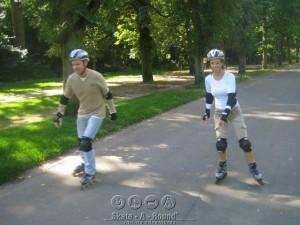 Private skate lesson in Amsterdam Vondelpark by Lex Skate-A-Round