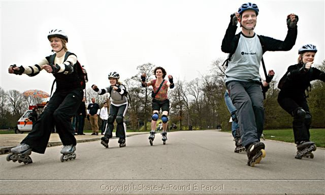 Private Inline Skate workshop Amsterdam with Lex van Buuren
