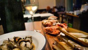 Walking Dinner bij Visbar Beet voor expats en singles