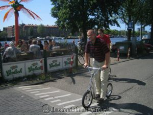 Steppen in Amsterdam-Oost - leuk personeelsuitje met de groep