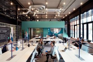 Coworking hotspot TSH-Collab Amsterdam - In de Wibautstraat - Blog Lex and the City in Amsterdam Oost