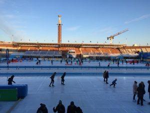 SEO copywriting zoektermen-onderzoek voor de Schaatsen slijpen doet Lex ook. Daarna lekker schaatsen in het Olympisch stadion