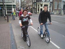 steppen in amsterdam is leuk voor iedereen - ook voor mannen - met de groep