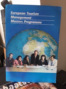 Management diploma's Lex van Buuren in tourism: NHTV, ETM, DESS Tourisme (BAC+5) and post-graduate