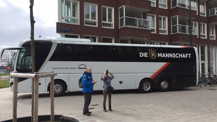 QO hotel hosts German National football team