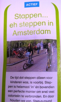 Lex and the City uitjes in Flair met steptours in Amsterdam