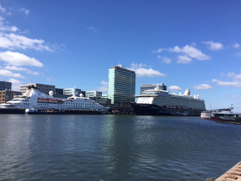 Startplek van privé fietstour in het Oostelijk Havengebied met tour company Lex and the City