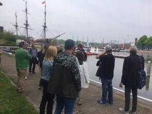 Stadstour met bezoek marineterrein via Stadsherstel