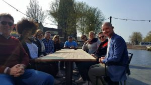 Hotspot for start private boat trip in Amsterdam | In East AMS | Molen de Gooyer | Kop van Oost