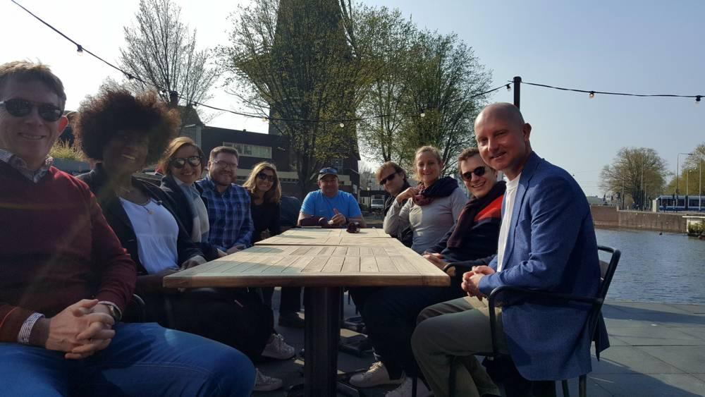 Hotspot for start private boat trip | In East AMS | unusual tour Amsterdam | Molen de Gooyer | Kop van Oost