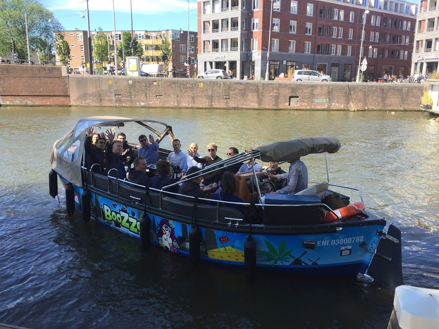 Guided boat tour for EY with Lex and the City in Amsterdam - Outing for colleagues Paris, Bruxelles and Amsterdam