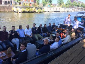 Private boat tour starting in East Amsterdam with local guides from Lex and the City for EY Ernst & Young - May 2019