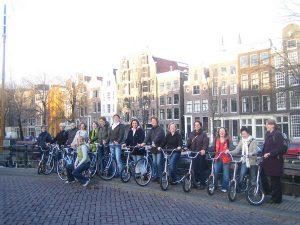 Privé uitje met de groep in Amsterdam met een lokale gids van Lex and the City