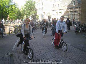 Steppen in Amsterdam is leuk als sportief groepsuitje. Met Lex and the City, de specialist voor steptours in Mokum.