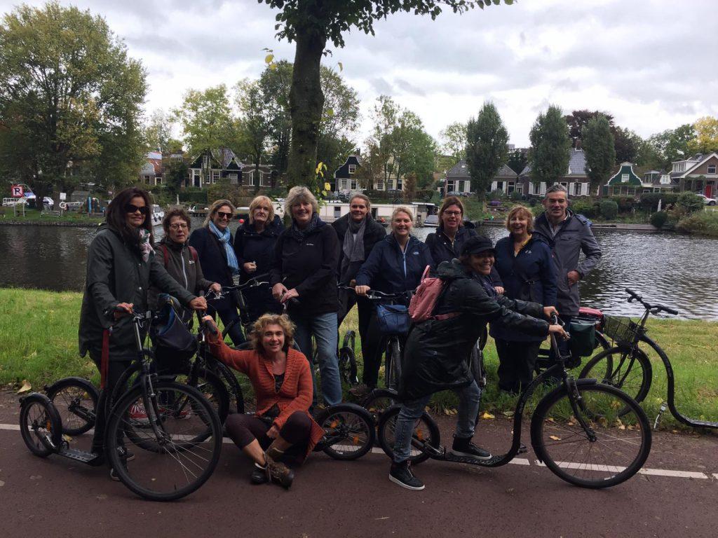 Steppen met de groep in Amsterdam-Noord met Lex and the City tours
