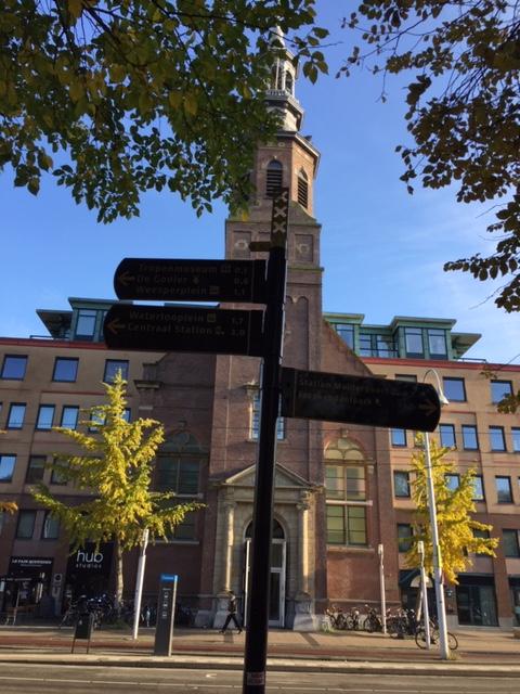 Privé Rondleiding in het Oosterpark in Amsterdam met zicht op Muiderkerk